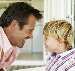 мальчик и папа
