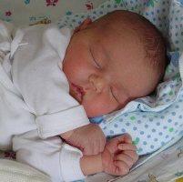 маленький ребенок спит