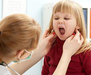 Увеличенные лимфоузлы на шее у ребёнка