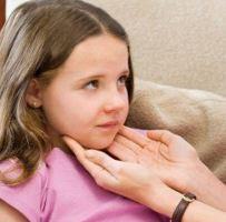 лимфоузлы на шее у ребенка