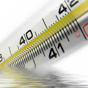 Как мерит температуру грудничку ртутным градусником