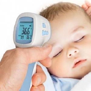 Как мерить жар ребенка электронным градусником