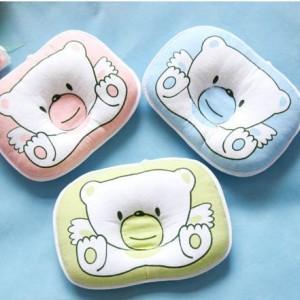 Модели подушек для новорожденных