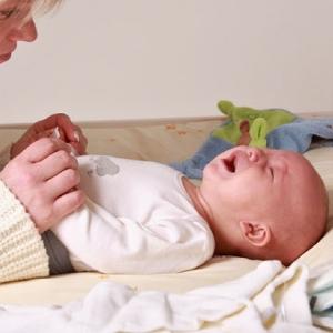 Последствия запора у младенца