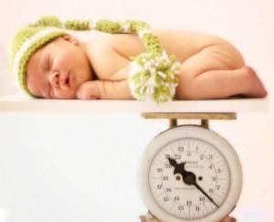сколько весит ребенок