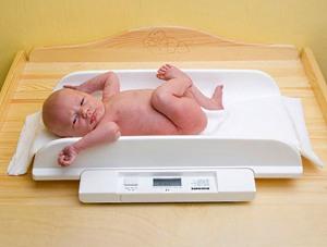 вес ребенка