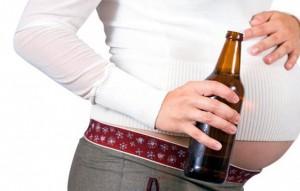 беременная уотребляет пиво