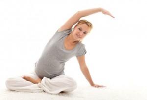 упражнения для поясници при беременности