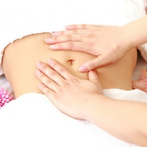 stomach massage